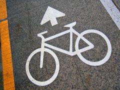cycle lane marking
