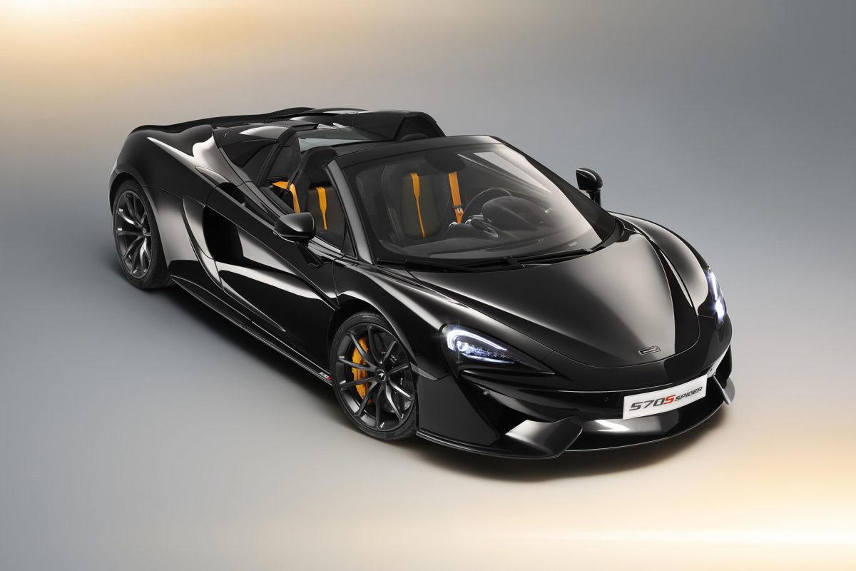 McLaren Design Editions for 570S Spider revealed