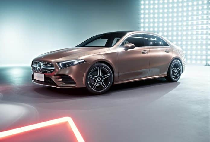 Chinese debut for Mercedes-Benz A-Class saloon 1