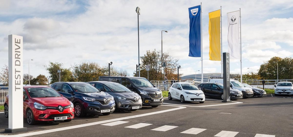 Renault dealer in Edinburgh offering PCP car finance