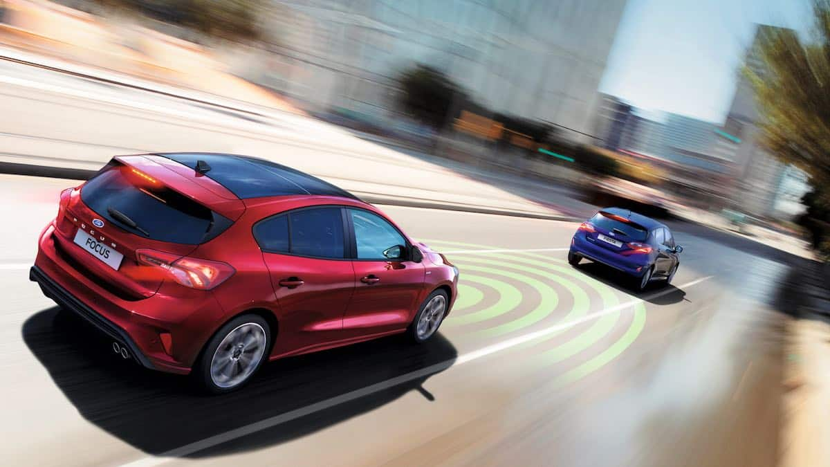 Ford Focus adaptive cruise control
