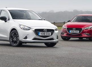 Mazda2 and Mazda3 Sport Black