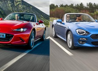 Mazda MX-5 vs Fiat 124 Spider (The Car Expert)