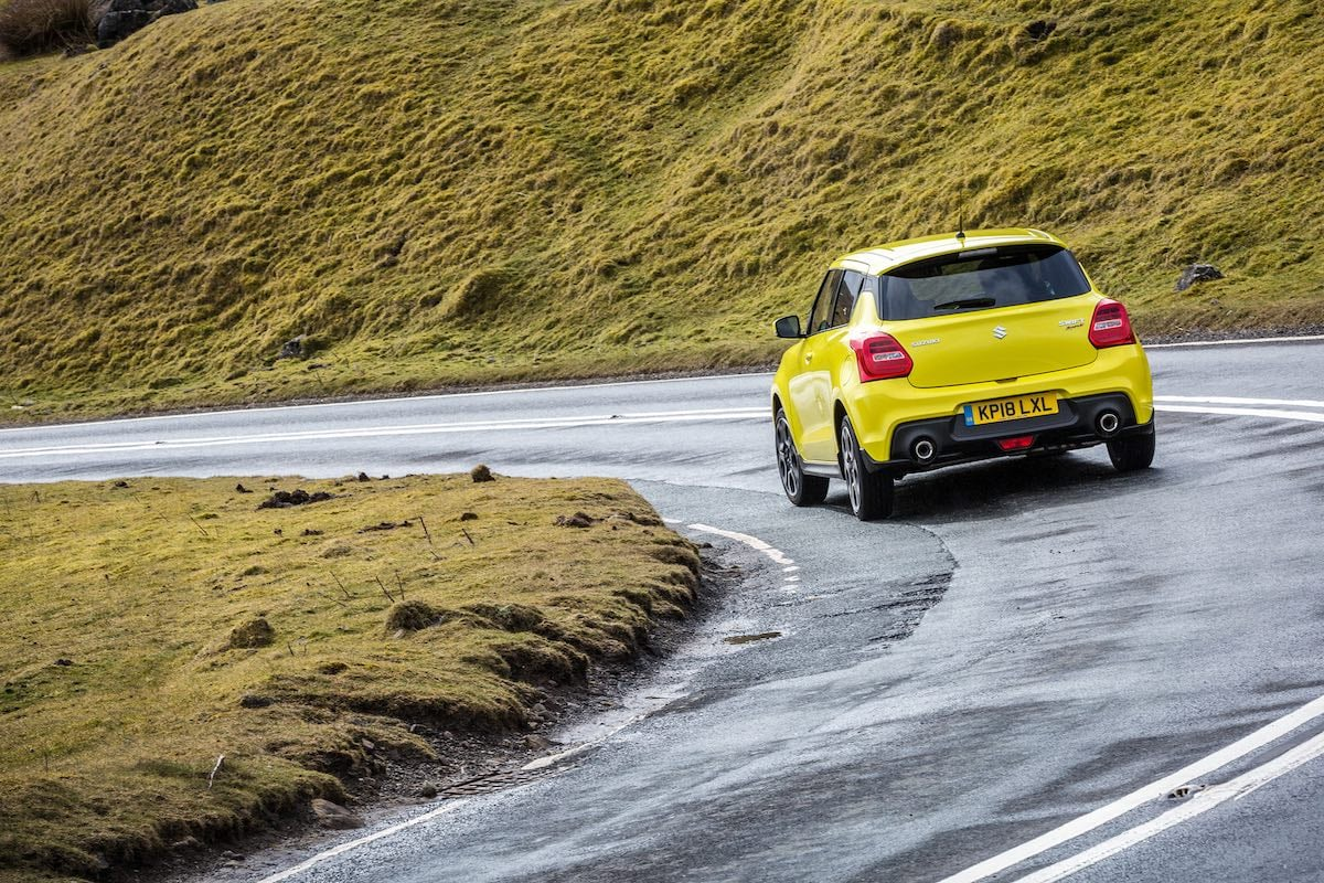 Suzuki Swift Sport on the road (The Car Expert)