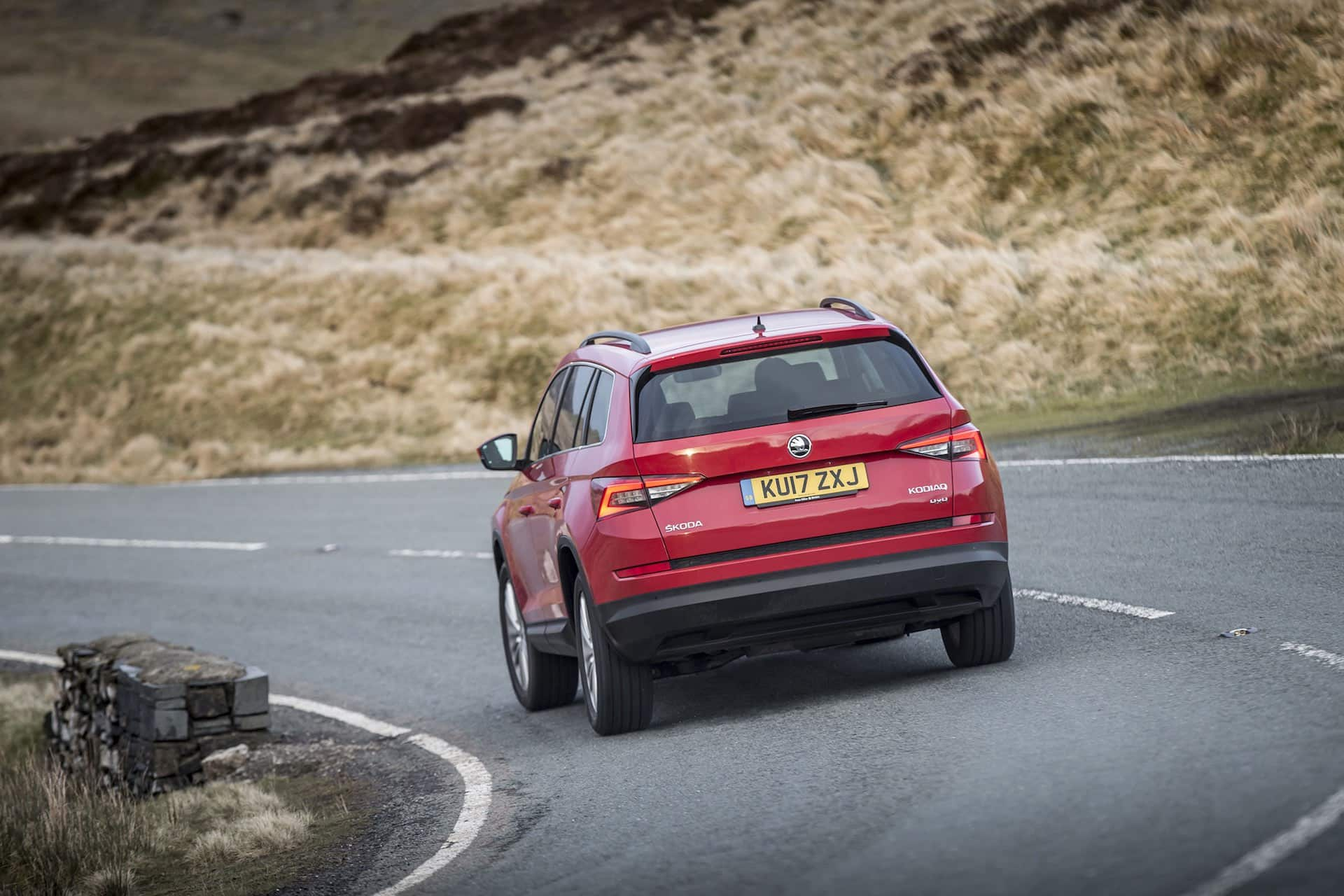 Skoda Kodiaq on the road (The Car Expert)