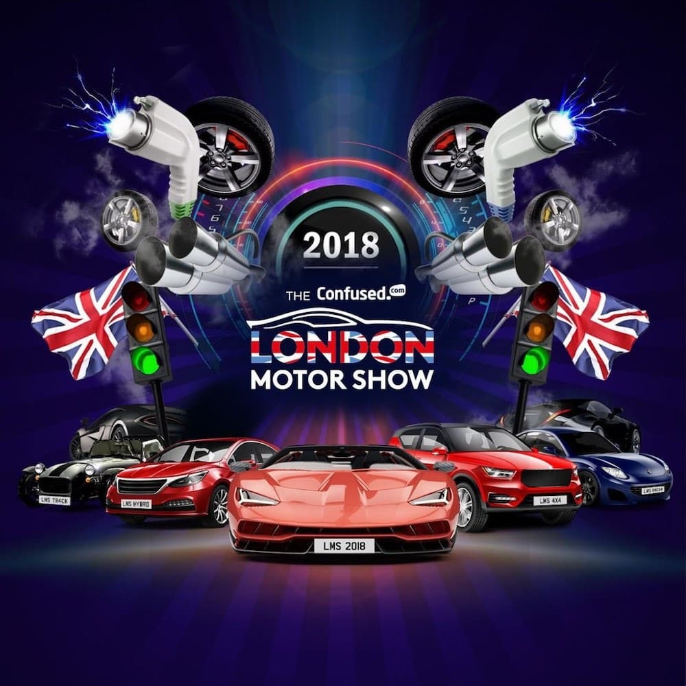 London Motor Show flyer