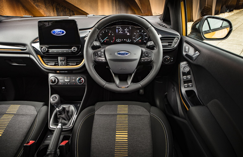 Ford Fiesta Active dashboard