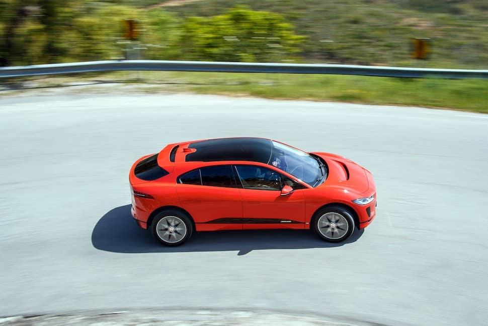 Jaguar I-Pace review top view | The Car Expert