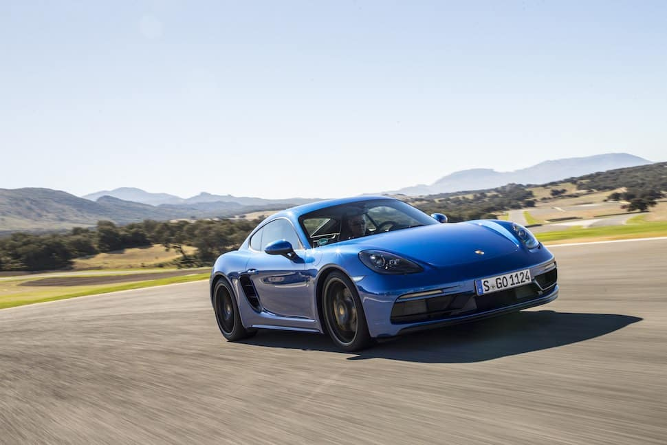Porsche 718 Cayman GTS - on-track 2