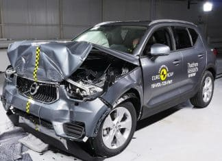 Volvo XC40 crash test The Car Expert