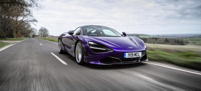 McLaren celebrates a strong six months of sales in 2018
