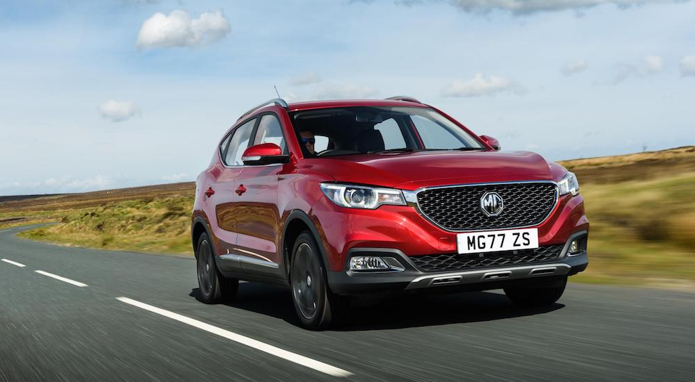 MG ZS SUV, June 2018