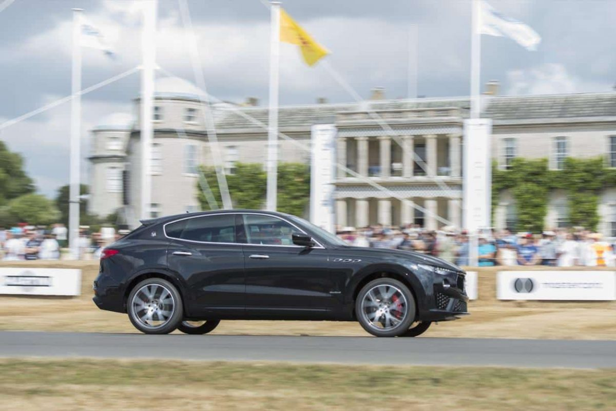 Maserati Levante at the 2018 Goodwood Festival of Speed