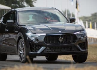 Maserati Levante MY19 at Goodwood 2018