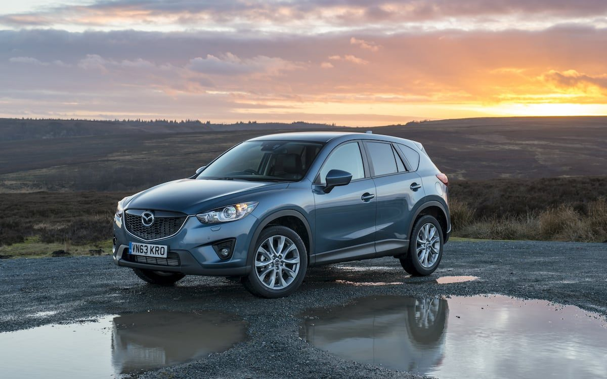 Mazda CX-5 safest used car for new parents 2018
