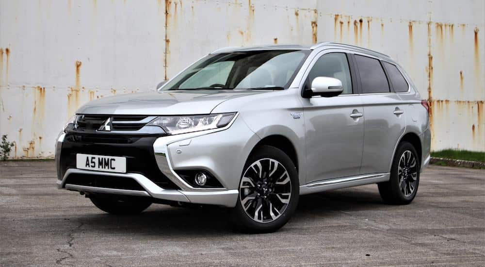 Mitsubishi Outlander PHEV, June 2018