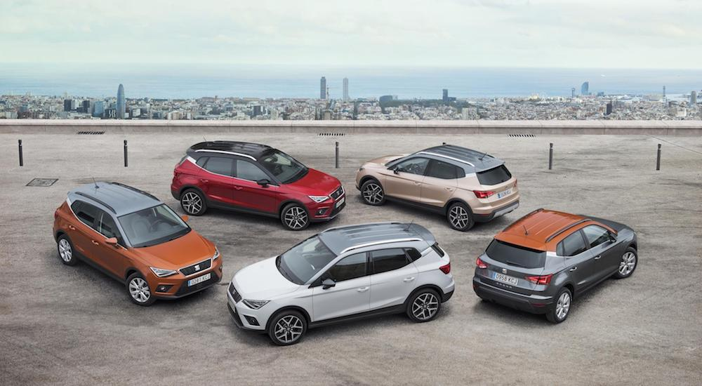 SEAT SUV sales June 2018