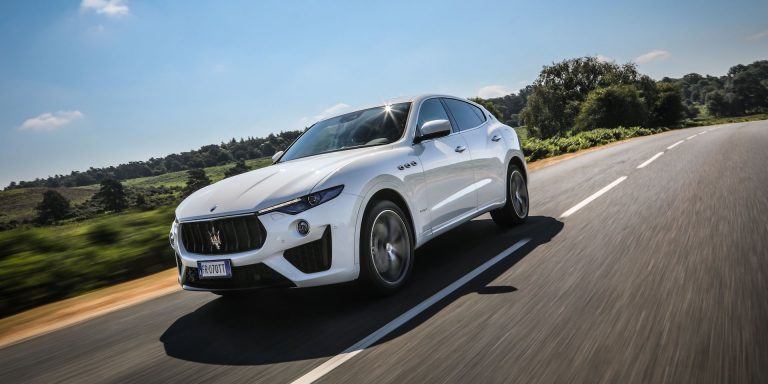 Maserati Levante GranSport test drive