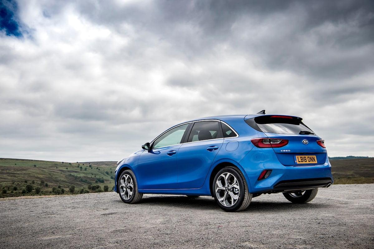 Kia Ceed (2018 - present) rear | The Car Expert