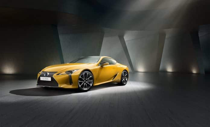 Lexus LC Limited Edition August 2018