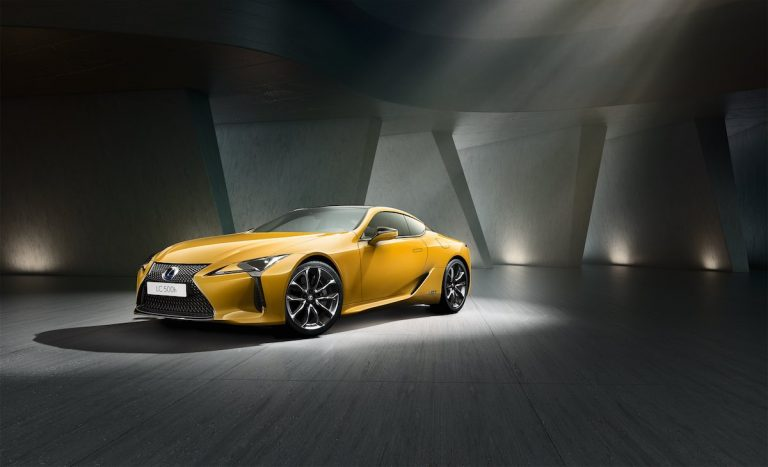 Lexus introduces dazzling new LC Limited Edition coupe