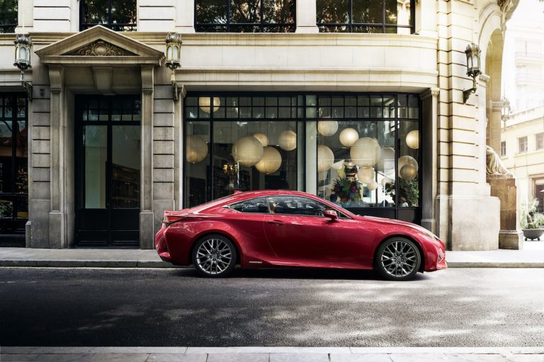 Even sharper and more refined: Lexus reimagines the RC luxury sports coupe