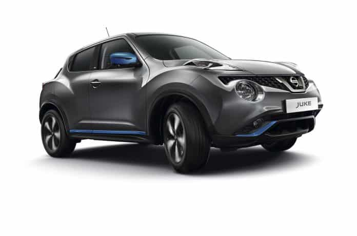 Revamped Nissan Juke adds colour 1