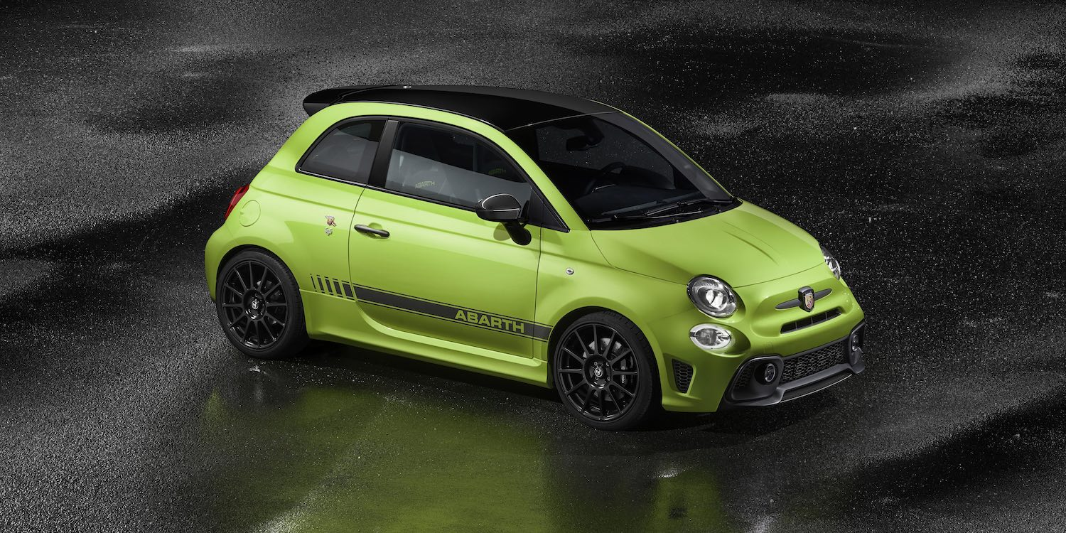 Abarth 595 in Adrenaline Green | The Car Expert