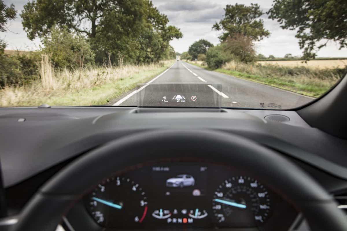 Ford Focus head-up display