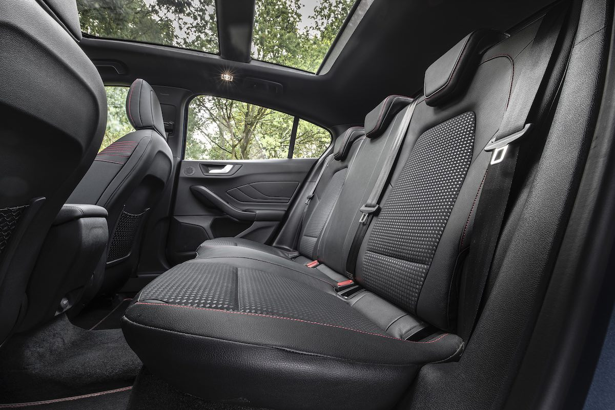 Ford Focus rear seat