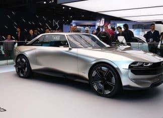 Peugeot e-Legend concept   Paris motor show 2018   The Car Expert
