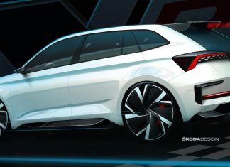 Skoda Vision RS concept sketch | The Car Expert