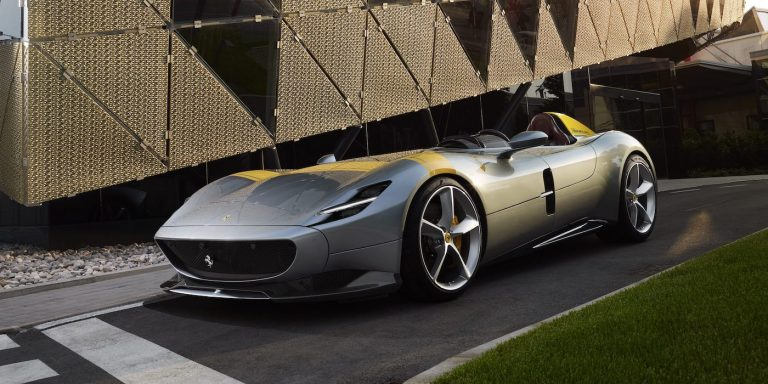 Ferrari Monza unveiled as very special edition
