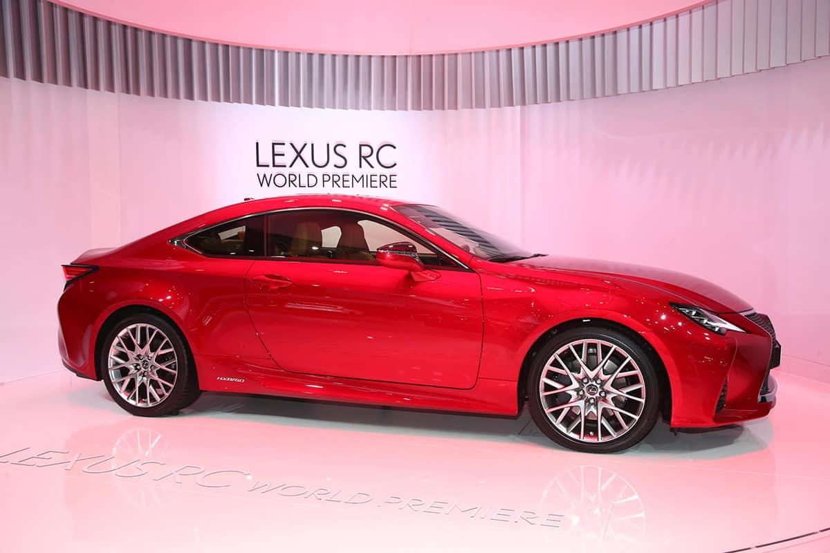 Lexus RC The Car Expert