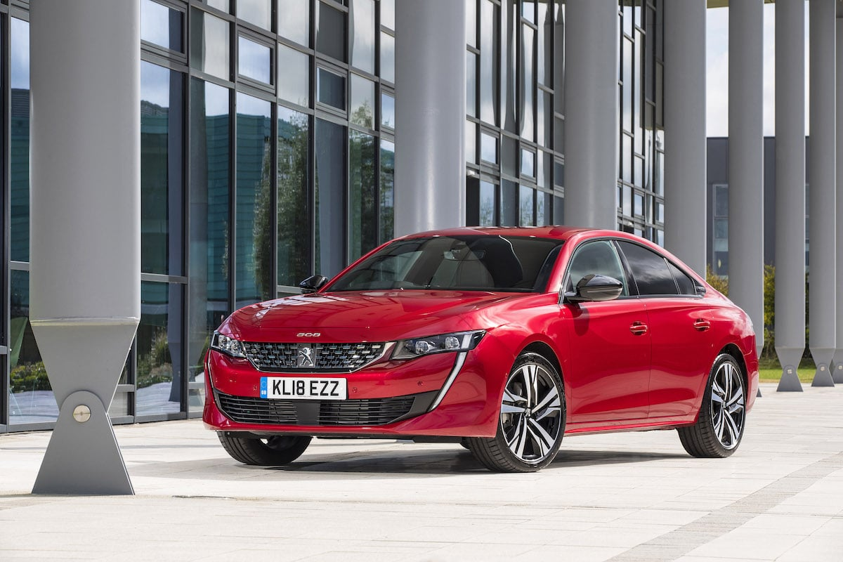 Peugeot 508 review 2018 - front