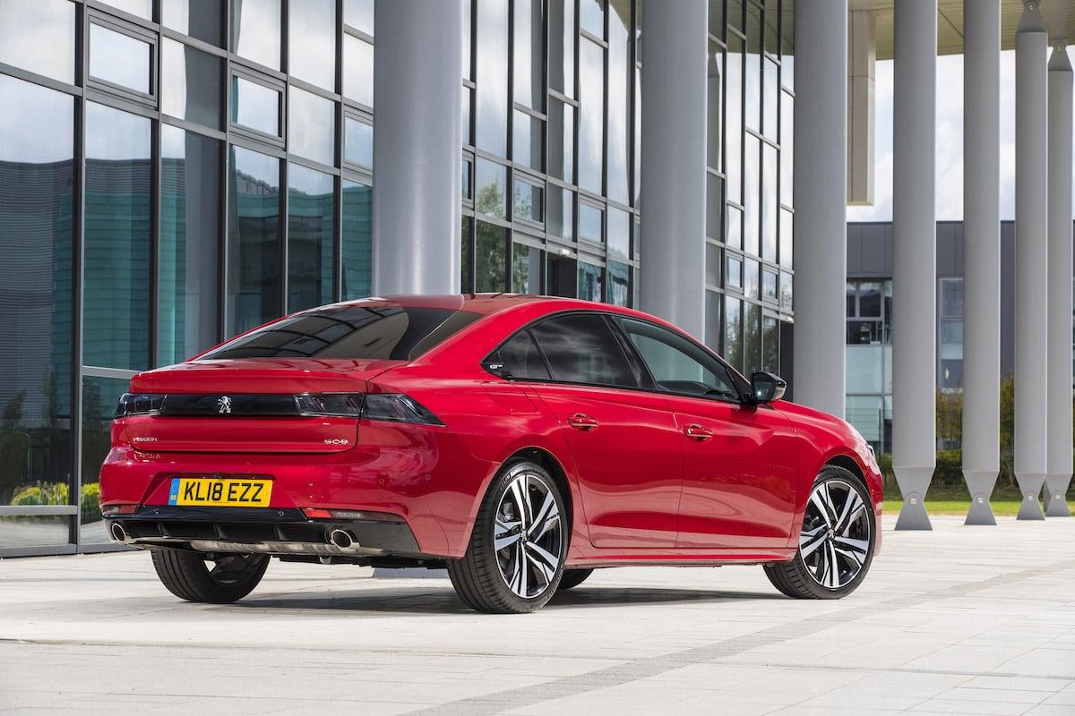 Peugeot 508 review 2018 - rear