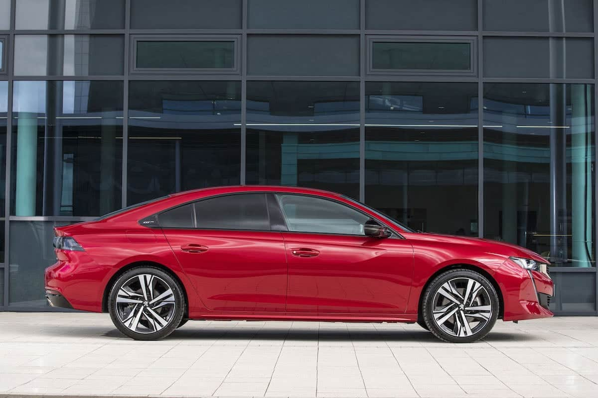 Peugeot 508 review 2018 - side profile