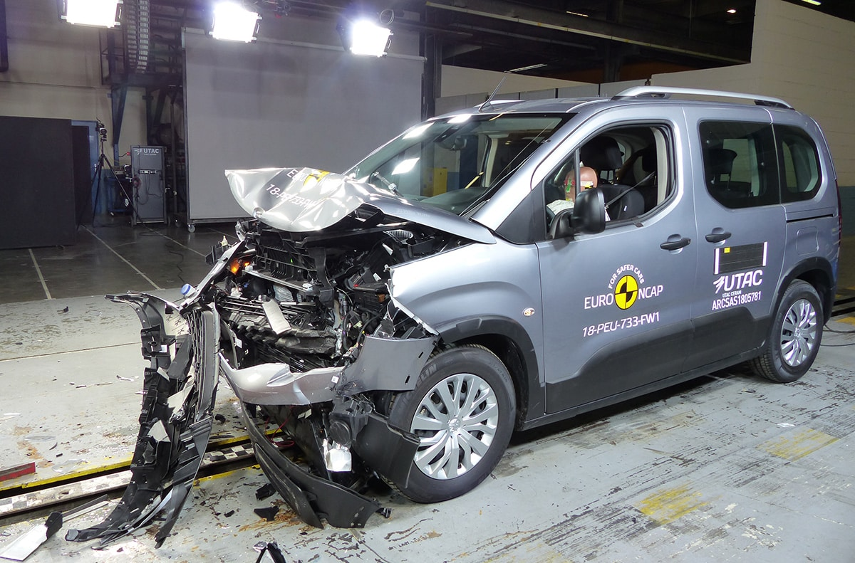 Peugeot Rifter Crash Test The Car Expert