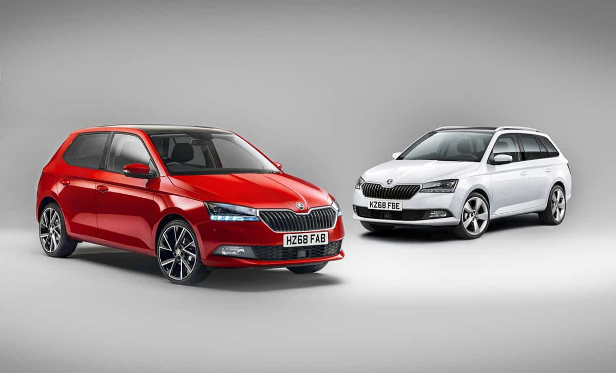 Skoda Fabia facelift (2019 onwards)
