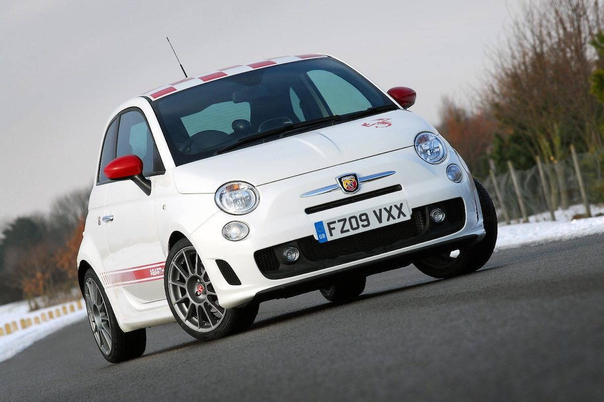 Abarth 500 essesse - front