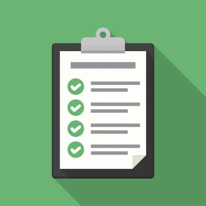 Warranty Direct checklist