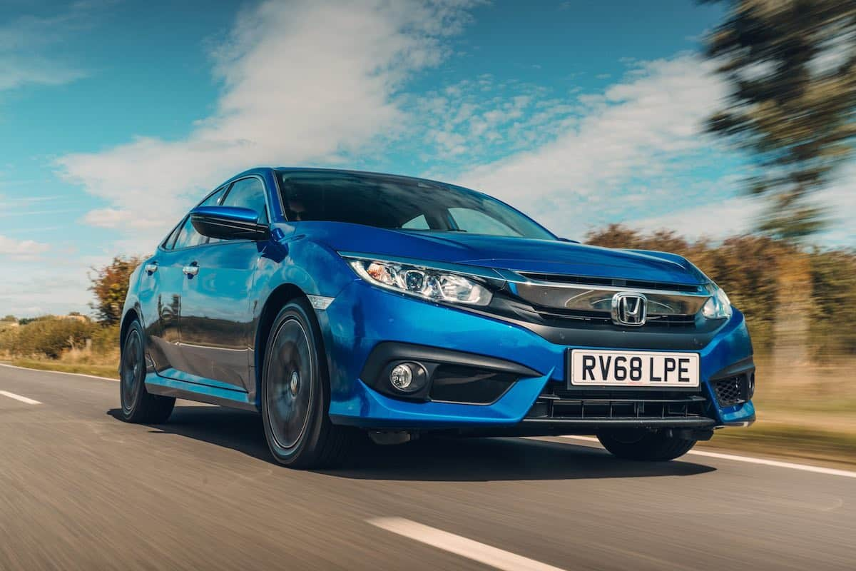 Honda Civic 4 Door saloon road test 2018 - The Car Expert