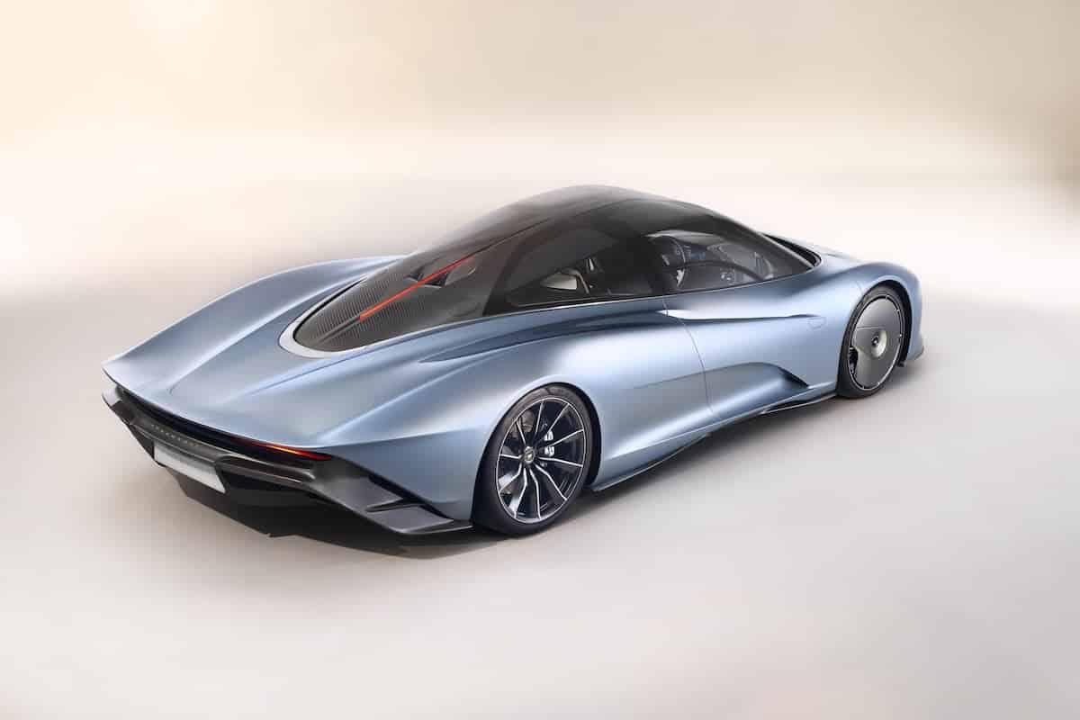2019 McLaren Speedtail rear | The Car Expert