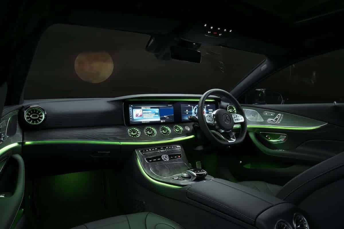 Mercedes-Benz CLS dashboard 2018