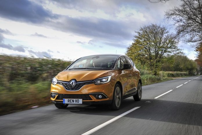 Renault Scenic EasyLife, October 2018