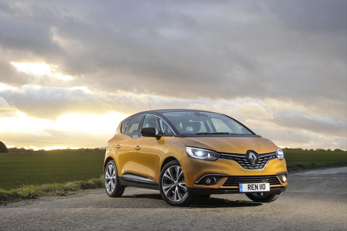 Renault Scenic, October 2018