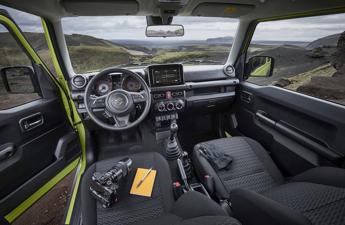 2019 Suzuki Jimny interior (The Car Expert)