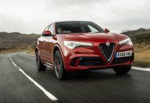 Alfa Romeo Stelvio Quadrifoglio wallpaper