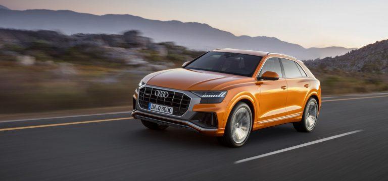 Audi Q8 test drive
