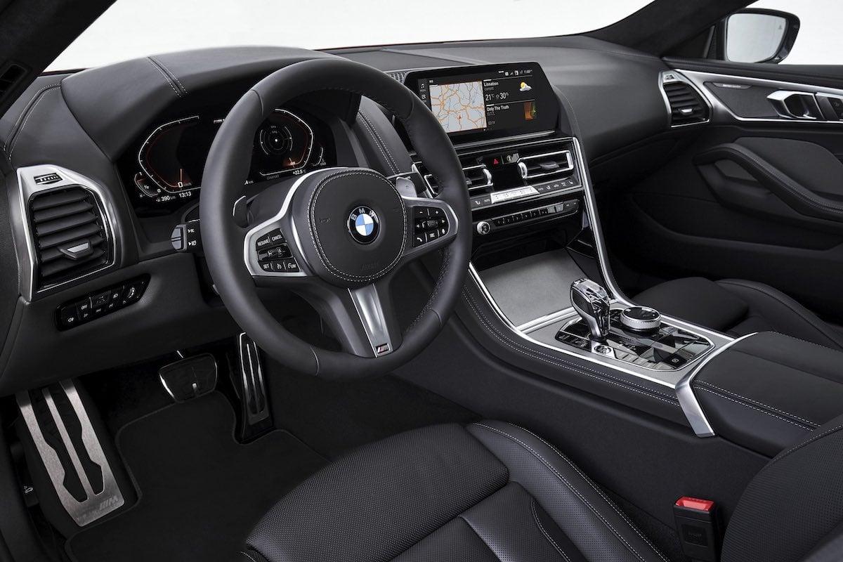 BMW 8 Series dashboard | The Car Expert